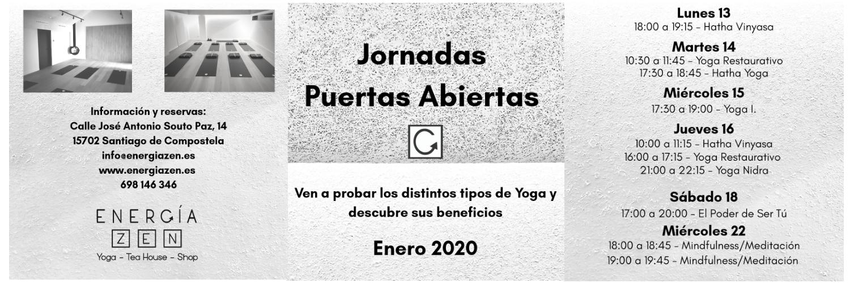 Jornada de Puertas Abiertas Enero 2020